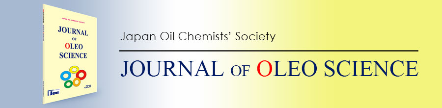 Journal of Oleo Science